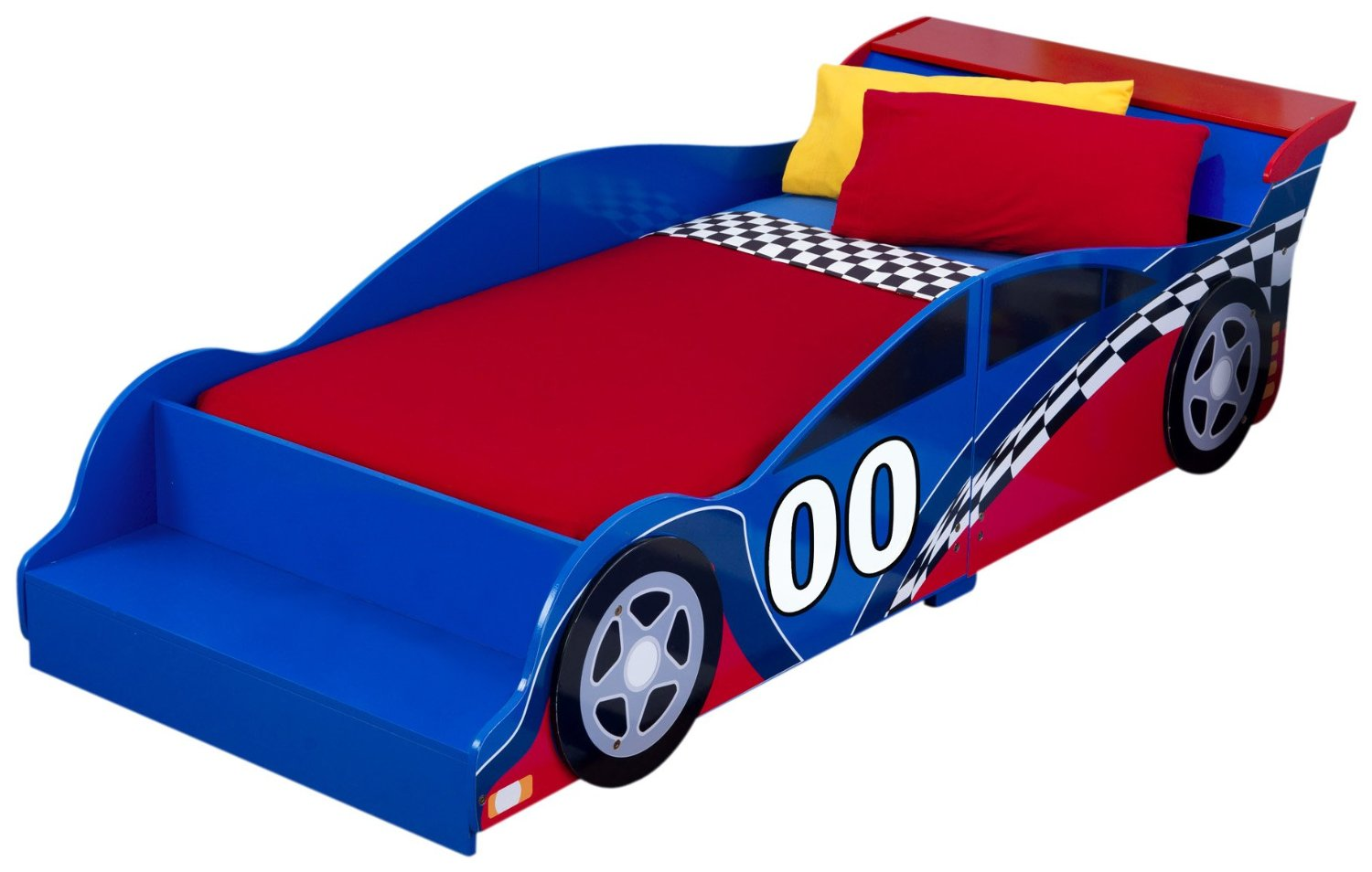 Picture of: Race Car Toddler Bed Image