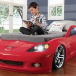 Red Race Car Toddler Bed