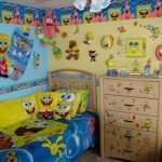 Spongebob Toddler Bed Set Decorations