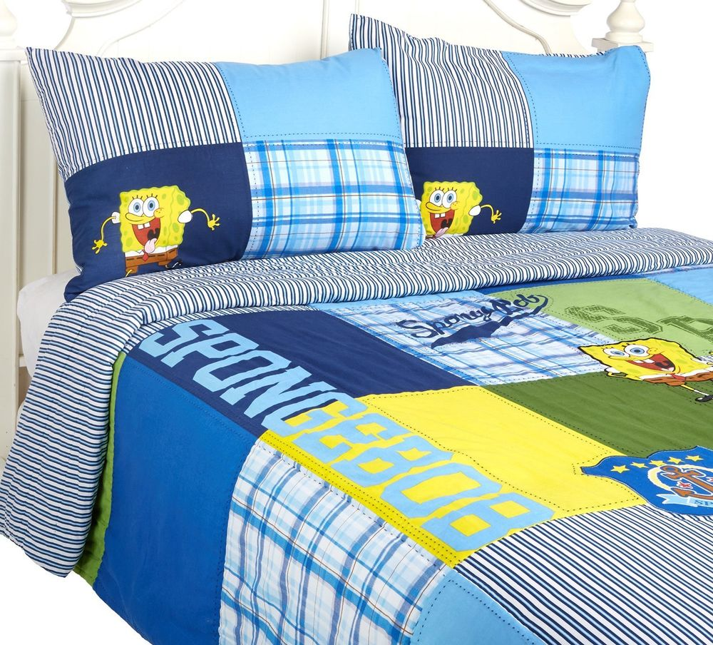 Picture of: Spongebob Toddler Bed Set Ideas