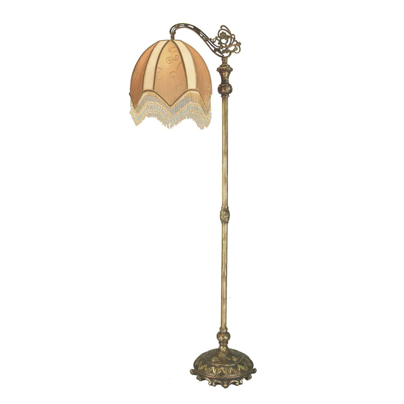 Image of: Antique Floor Lamps Ebay Uk