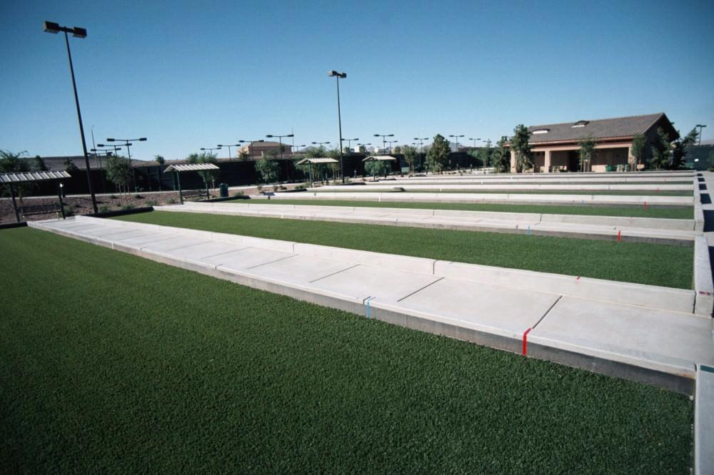 Picture of: Build Bocce Ball Court Artificial Turf