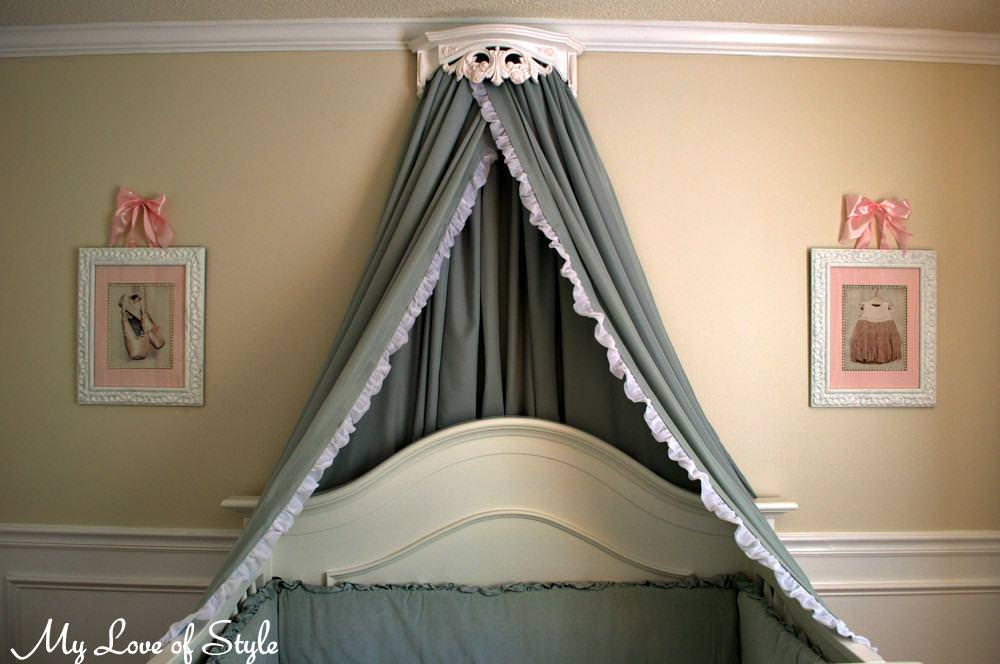 Picture of: Cute Crib Canopy Diy Ideas