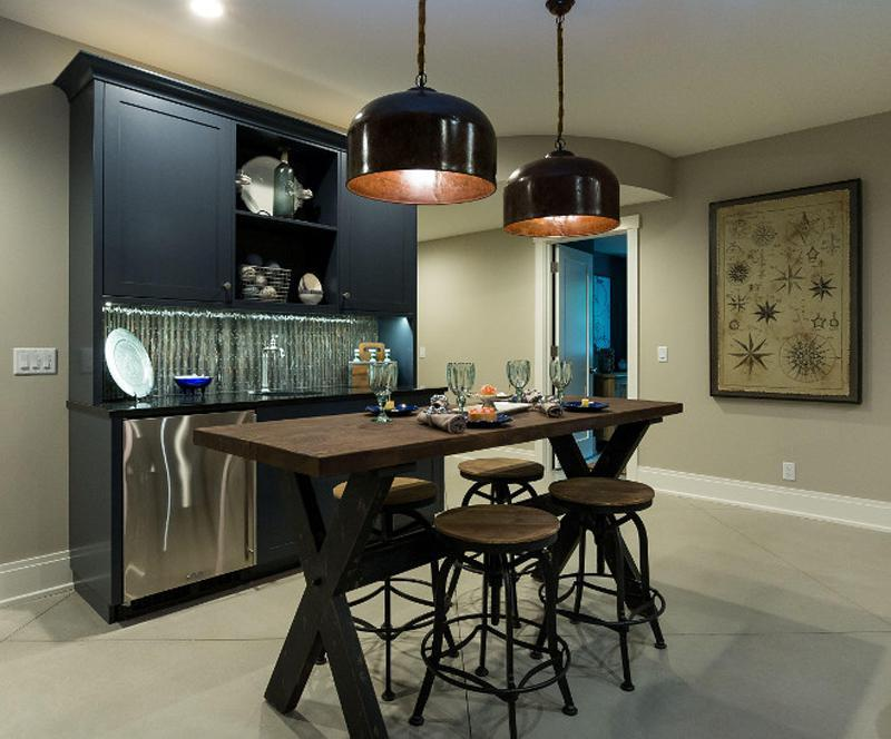 Image of: Houzz Revere Pewter Dining Room