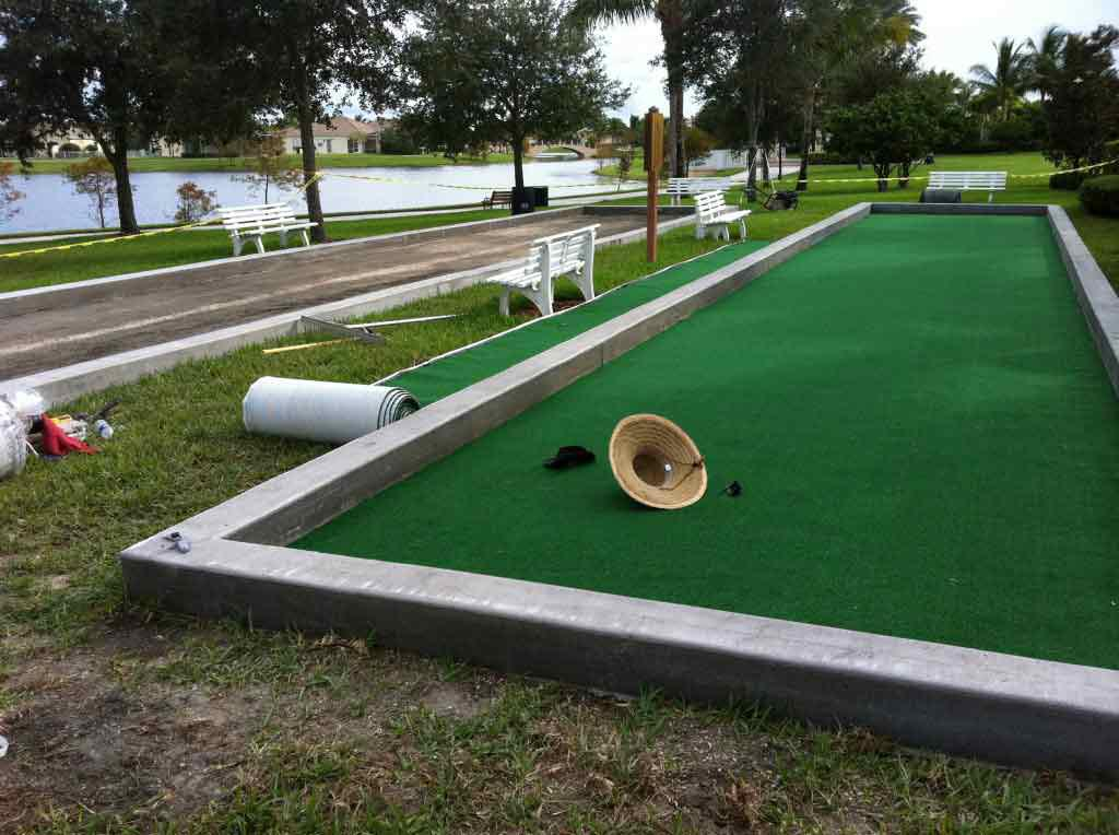 Picture of: Latest Bocce Ball Court