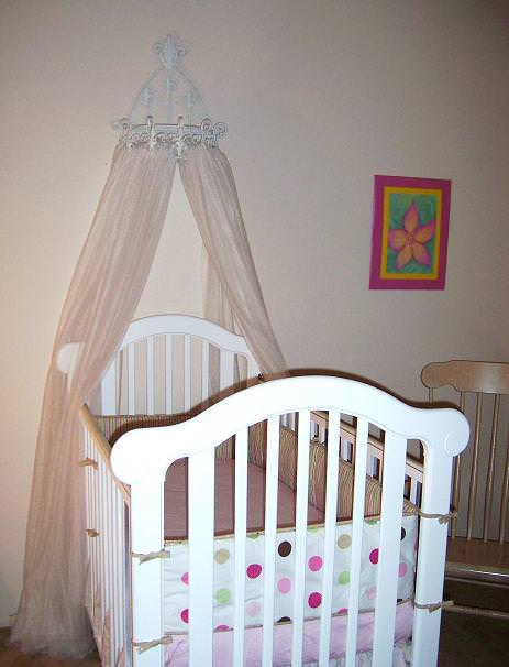 Picture of: Latest Crib Canopy Ikea