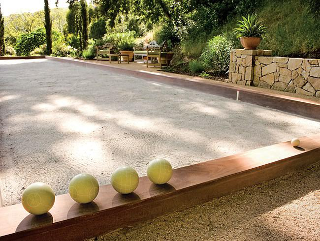 Picture of: Oyster Shell Bocce Court