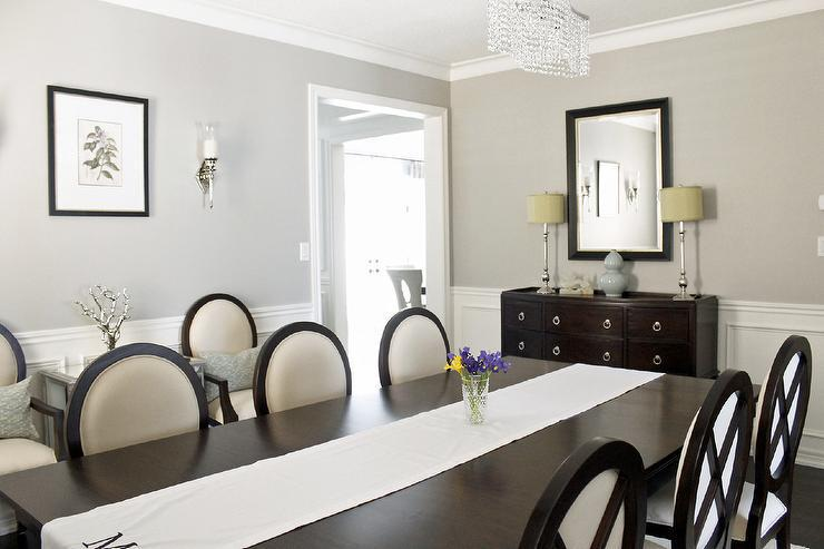 Image of: Pewter Dining Room Lights