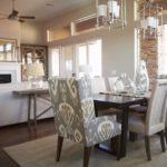 Pewter Dining Room Table