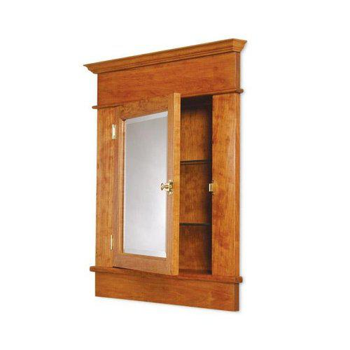 Image of: Recessed Medicine Cabinet Oval