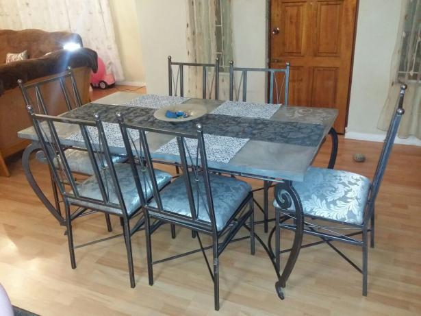 Image of: Vintage Revere Pewter Dining Room