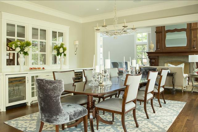Image of: Revere Pewter Paint Dining Room