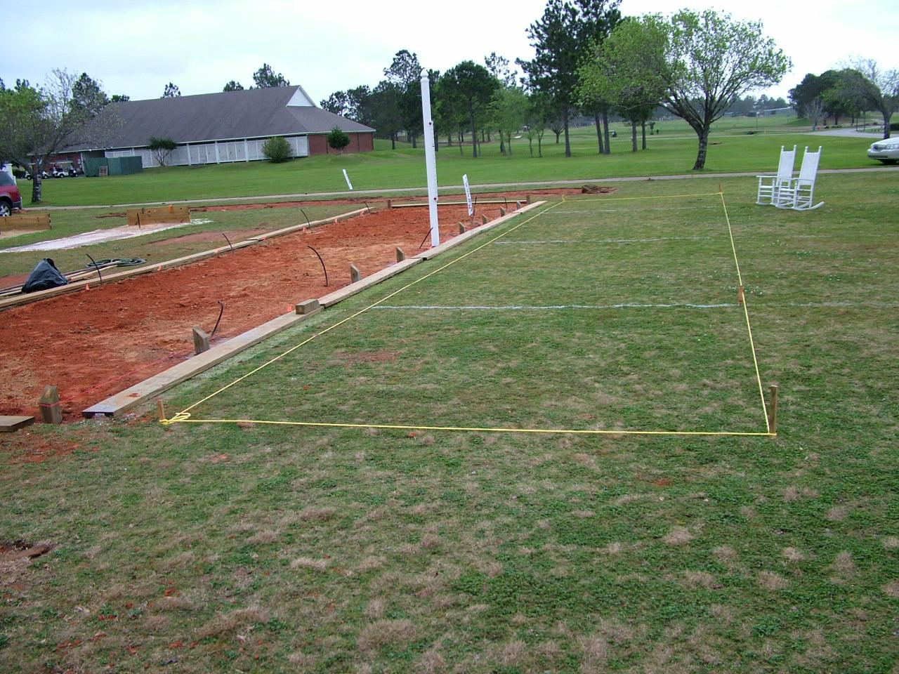 Picture of: Used Bocce Ball Court