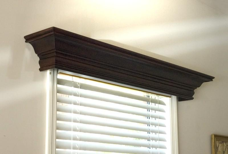 Image of: Window Cornice Box Diy