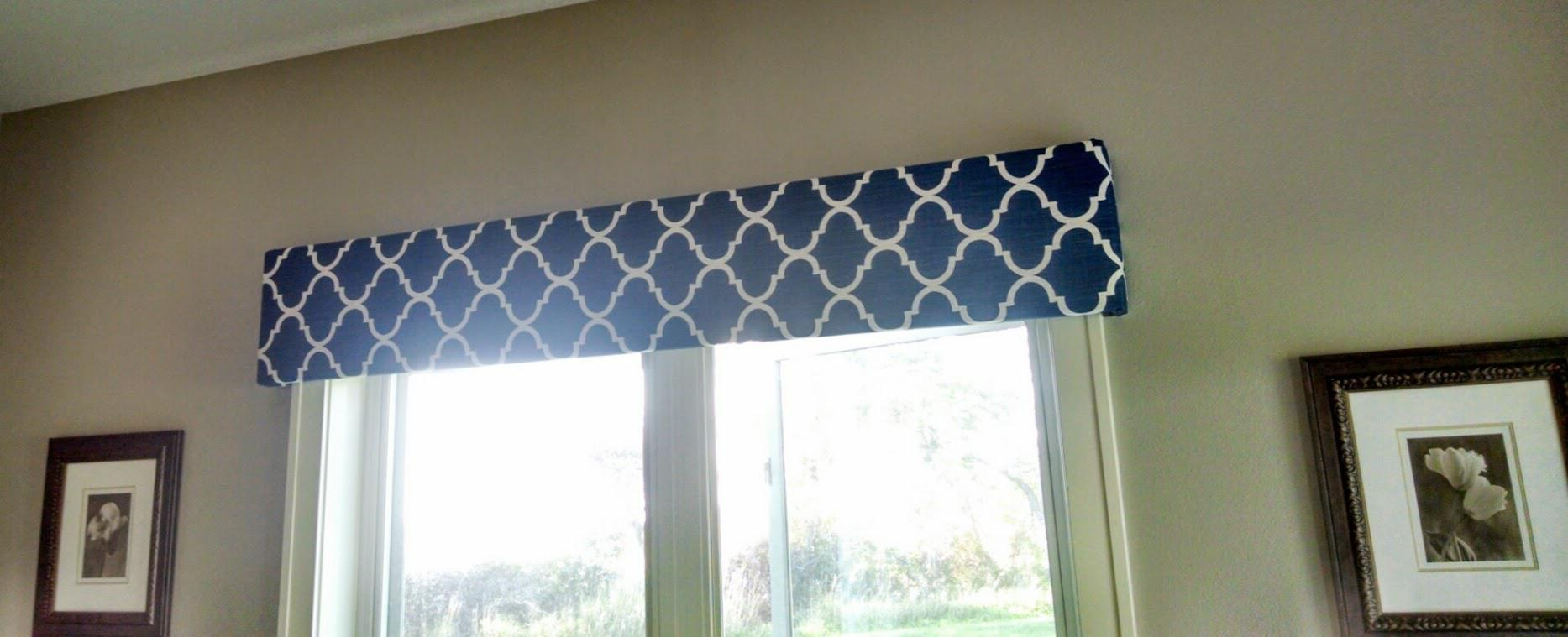 Picture of: Window Cornice Fabric