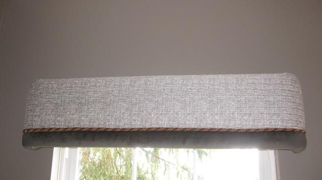 Image of: Window Cornice Valance