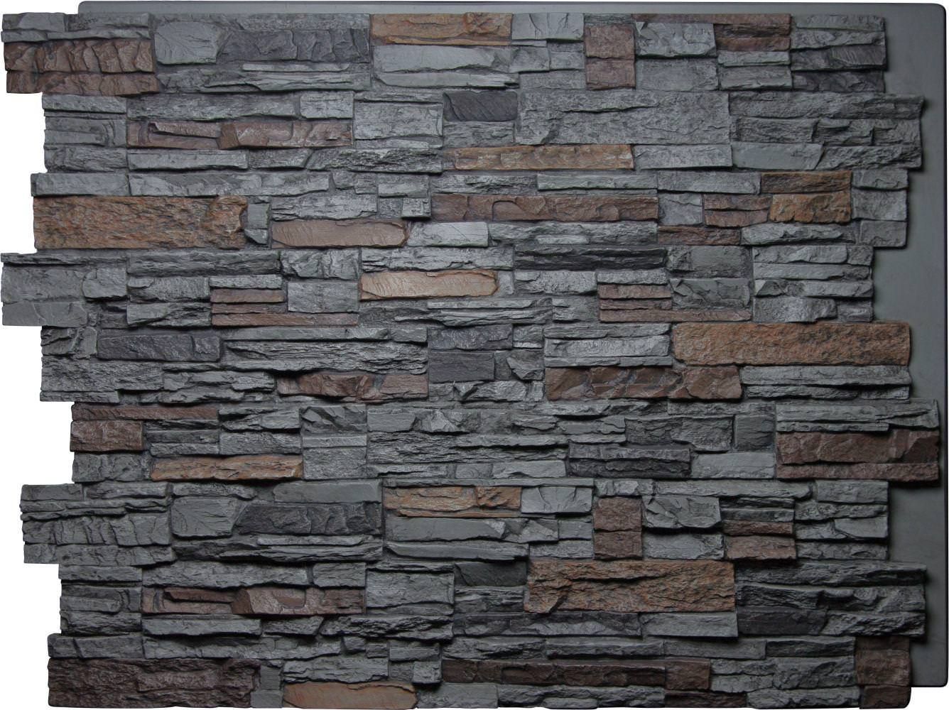 Image of: Natual Faux Brick Panels