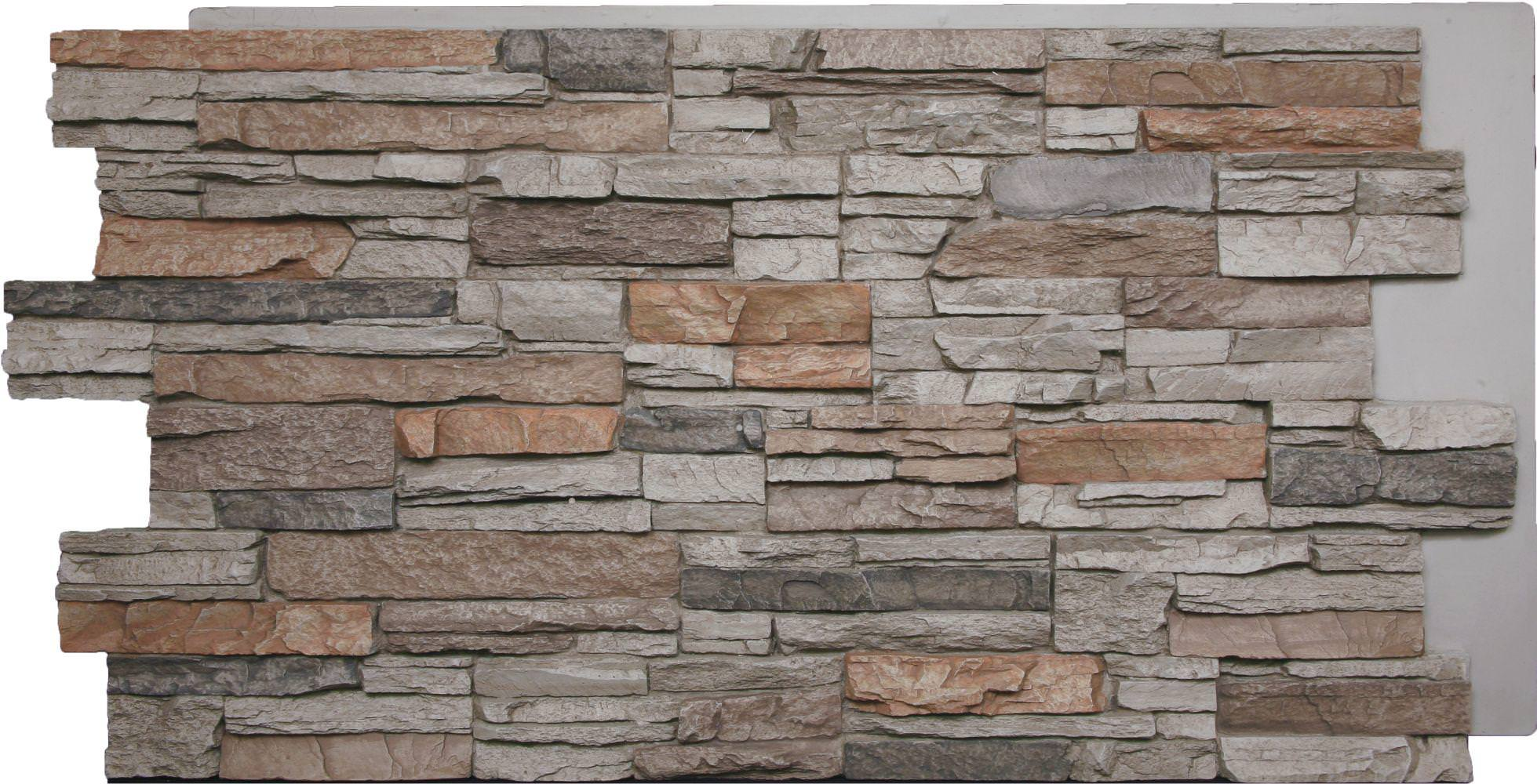Image of: Faux Brick Hardboard Wall Panels