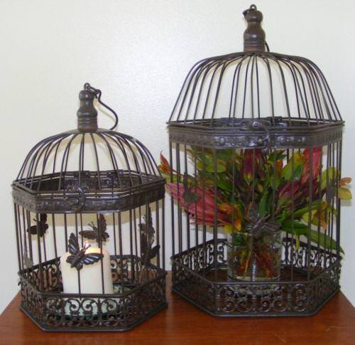 Image of: Decorative Bird Cage Covers