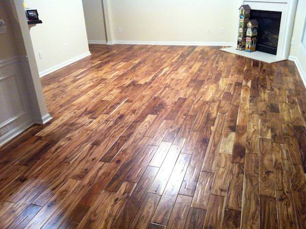 Picture of: Acacia Wood As Flooring