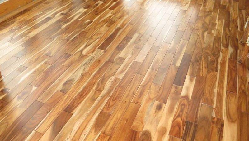 Picture of: Acacia Wood Flooring And Dogs