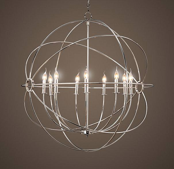 Anthropologie Orb Chandelier