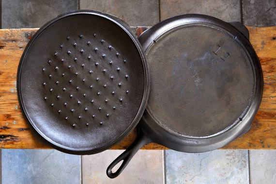 Antique Cast Iron Skillet 10
