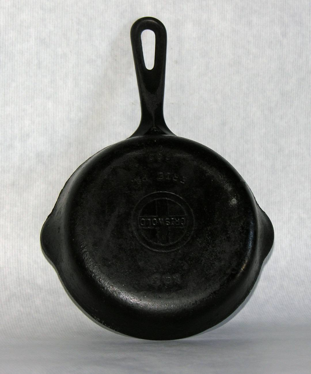 Image of: Antique Cast Iron Skillet Care
