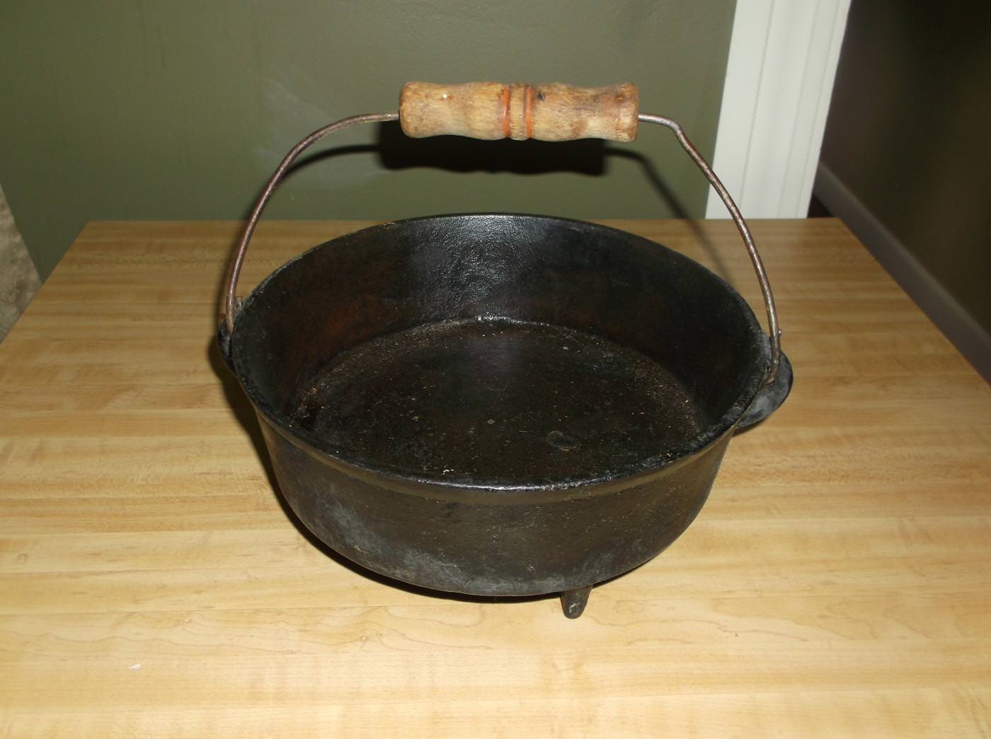 Image of: Antique Cast Iron Skillet Ebay