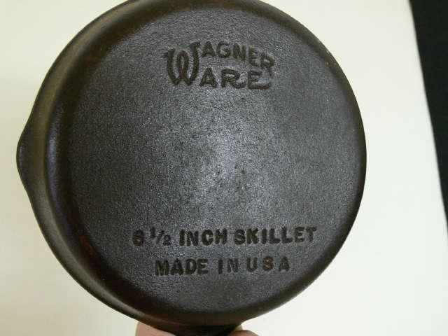 Image of: Antique Cast Iron Skillet For Sale