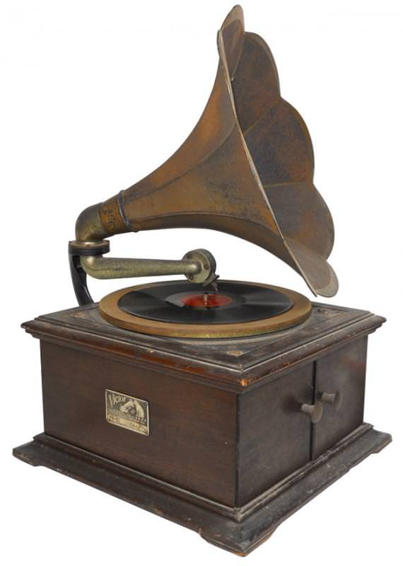 Image of: Antique Record Player Brands