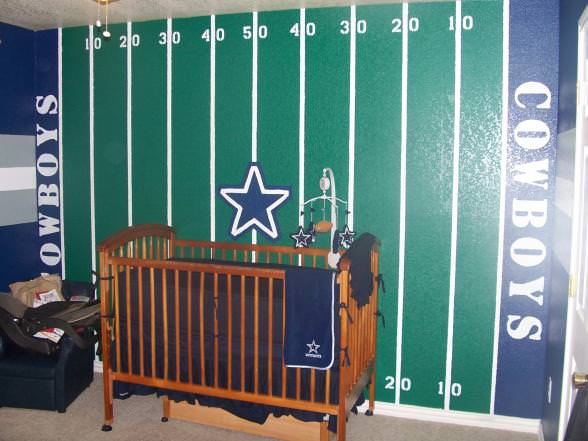 Image of: Baby Boy Cowboy Nursery Ideas