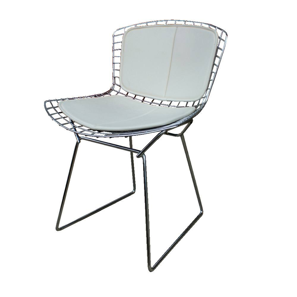 Image of: Bertoia Chair Black