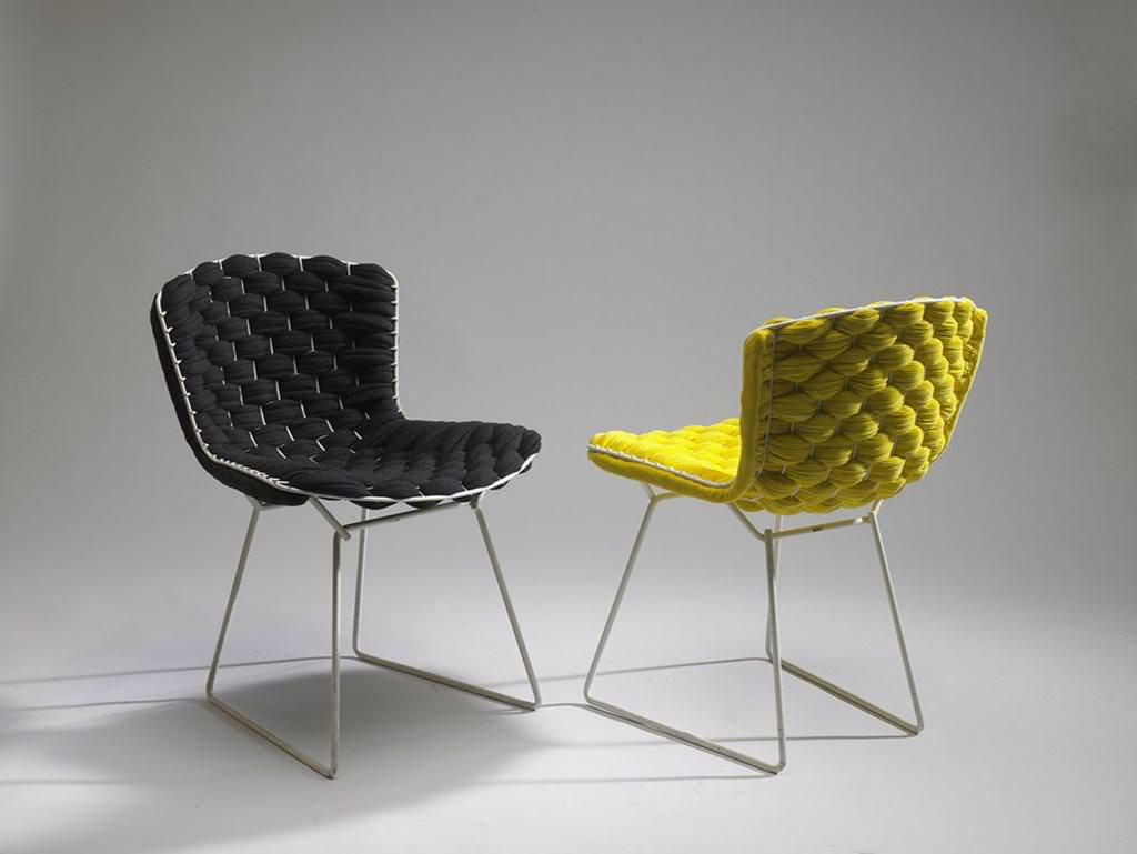 Image of: Bertoia Chair History
