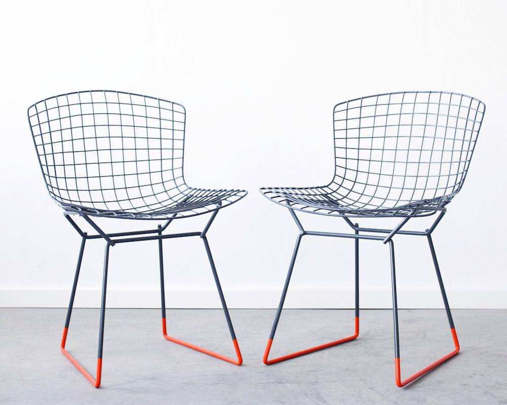 Image of: Bertoia Chair Outdoor Use