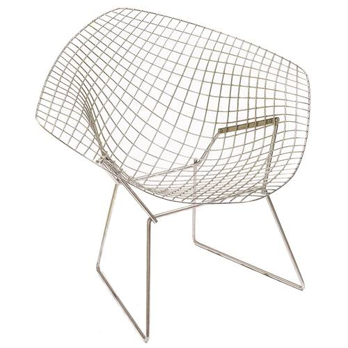 Image of: Bertoia Chair Replica