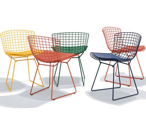 Image of: Bertoia Chairs Ebay