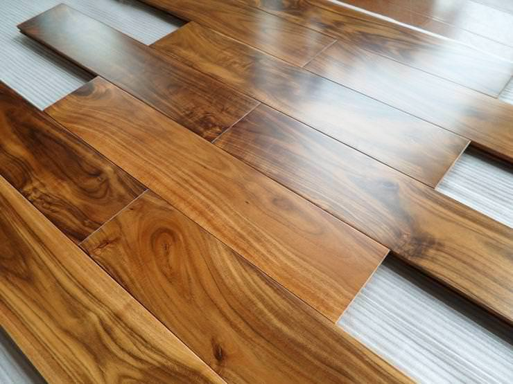 Picture of: Blonde Acacia Wood Flooring
