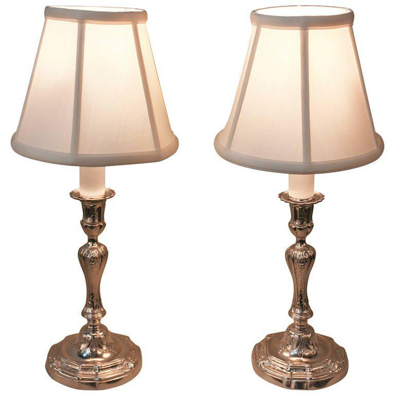 Image of: Candlestick Lamps Small