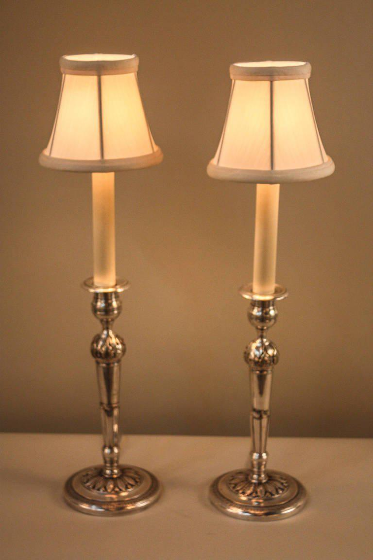 Image of: Candlestick Lamps Tall