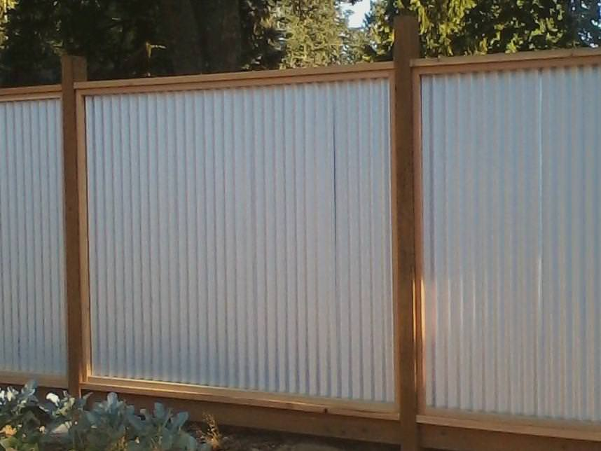 Image of: Corrugated Metal Siding Anchorage