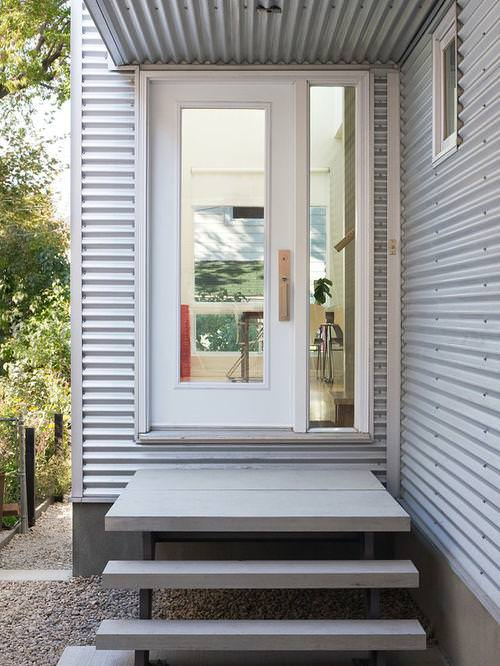 Image of: Corrugated Metal Siding Details