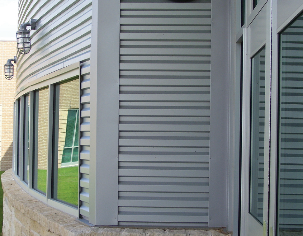 Image of: Corrugated Metal Siding Ideas