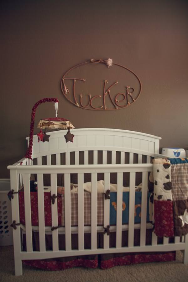 Image of: Cowboy Crib Mobile