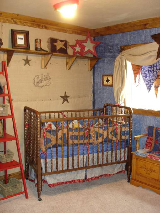 Image of: Cowboy Nursery Decorating Ideas