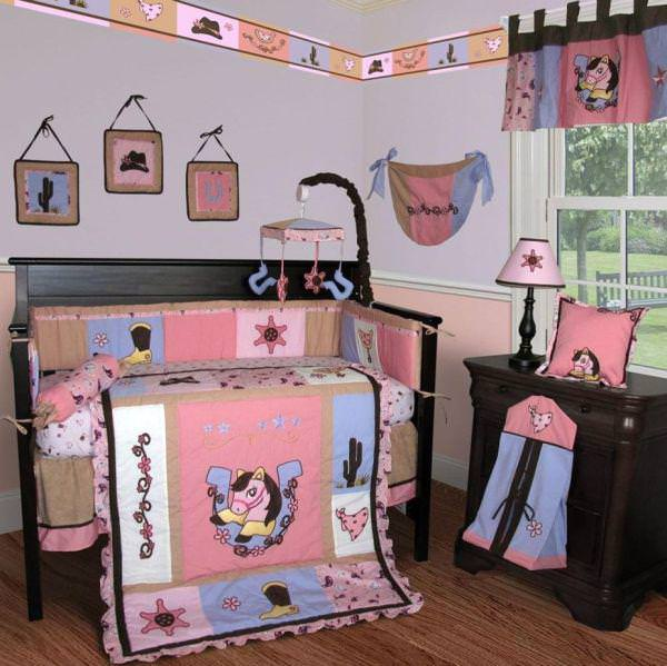 Image of: Cowboy Nursery Wall Art