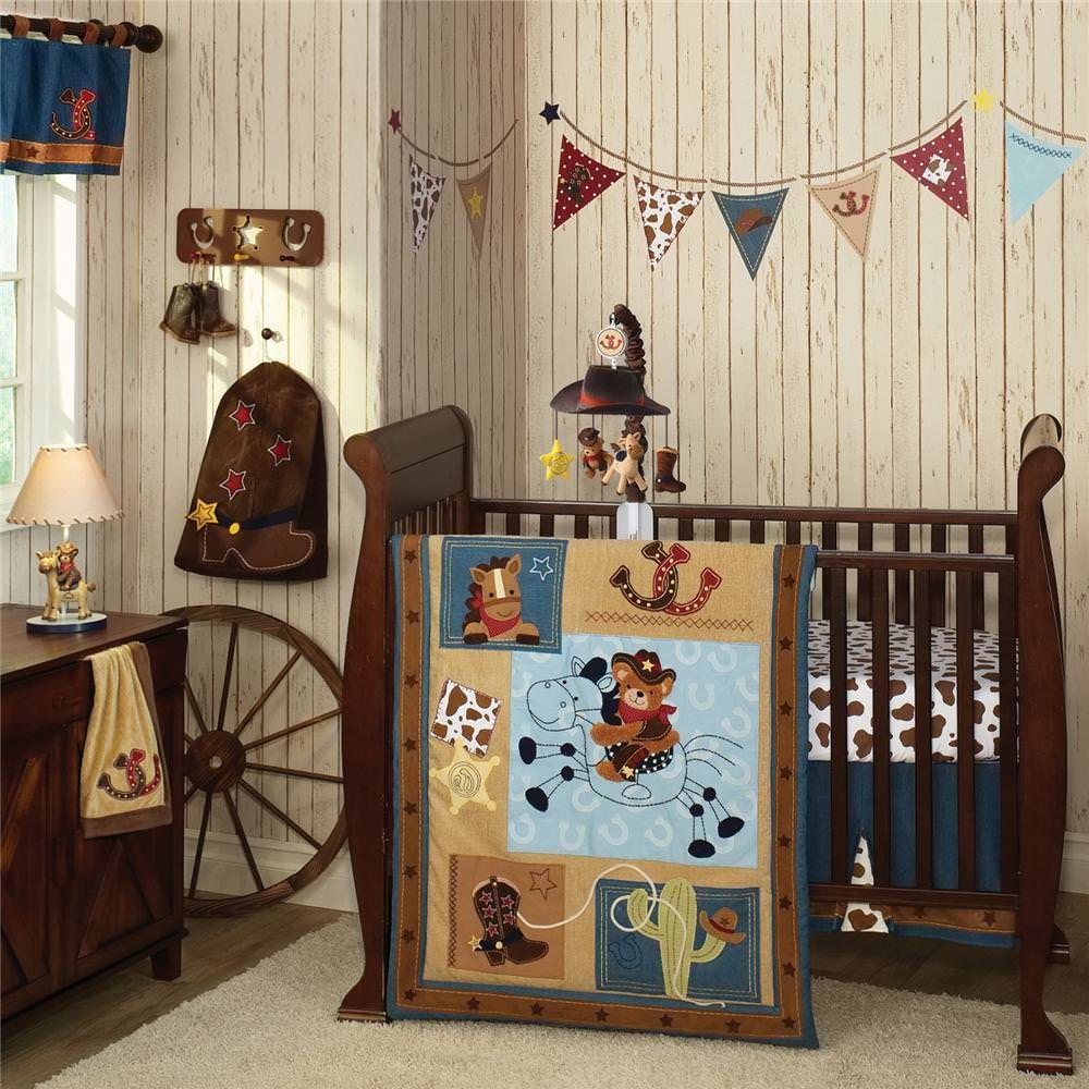 Image of: Cowgirl Nursery Decor