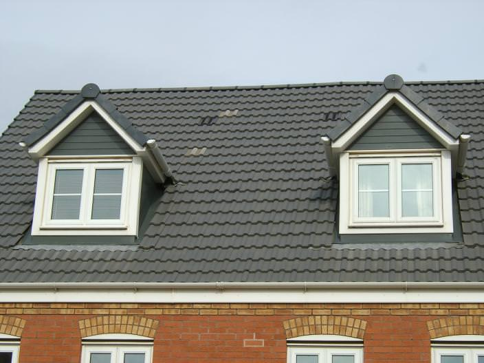 Dormer Window At Front Of House