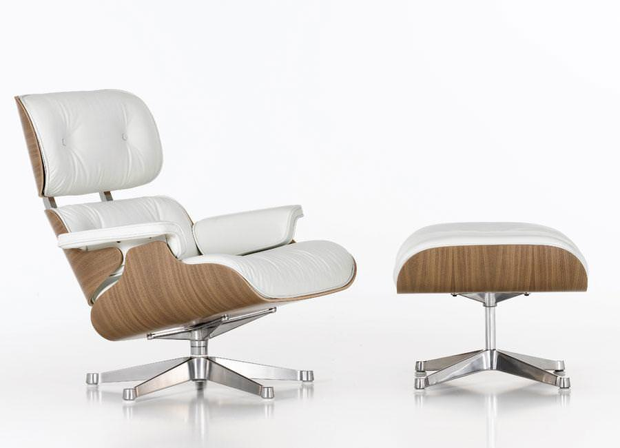 Image of: Eames Lounge Chair And Ottoman Replica