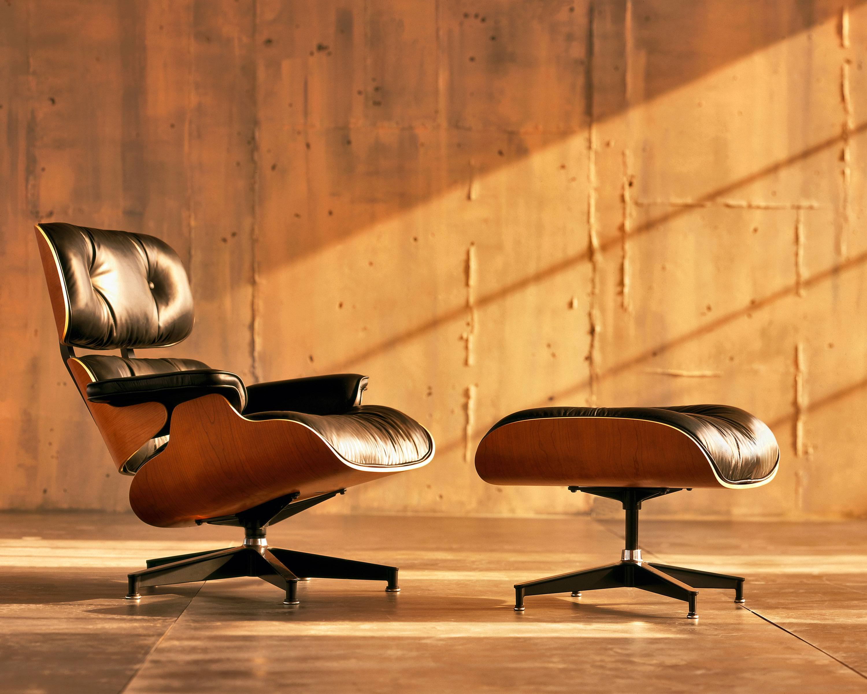 Image of: Eames Lounge Chair Costco